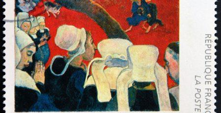 Paul Gauguin schilderij