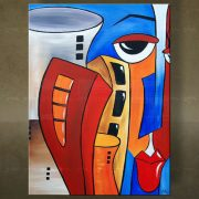 Olieverf schilderij Abstract 1 delig 5475FA