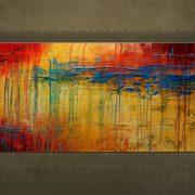 Olieverf schilderij Abstract 1 delig 5734FA