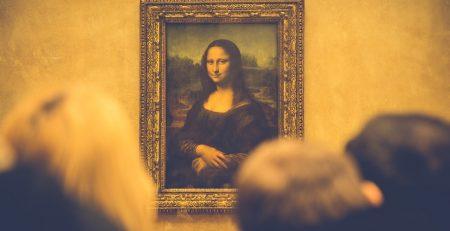 Leonardo da Vinci schilderij
