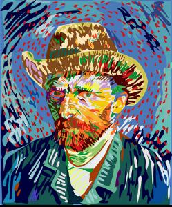 Vincent van Gogh schilderij