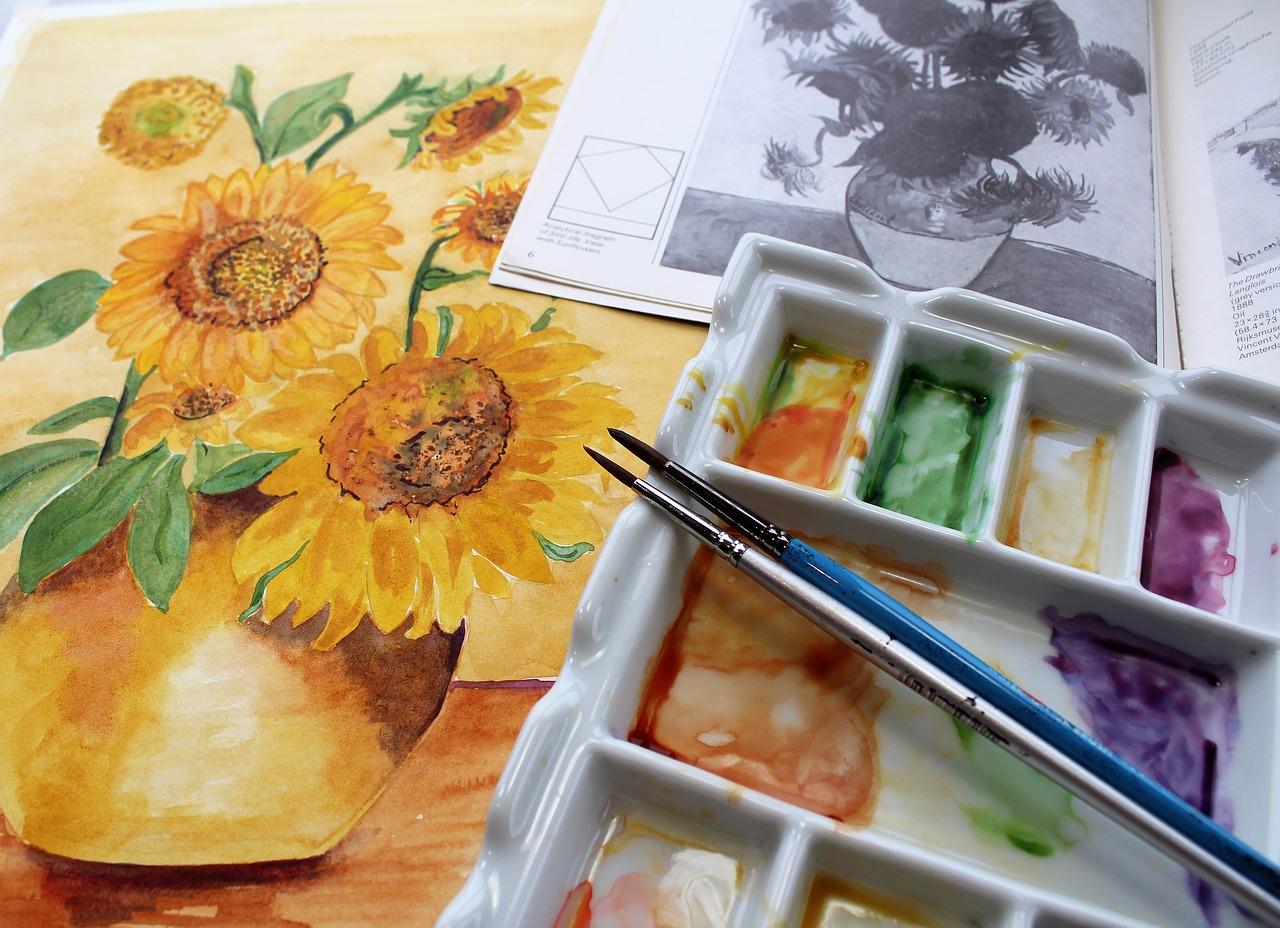 Bloemenschilderij kopen