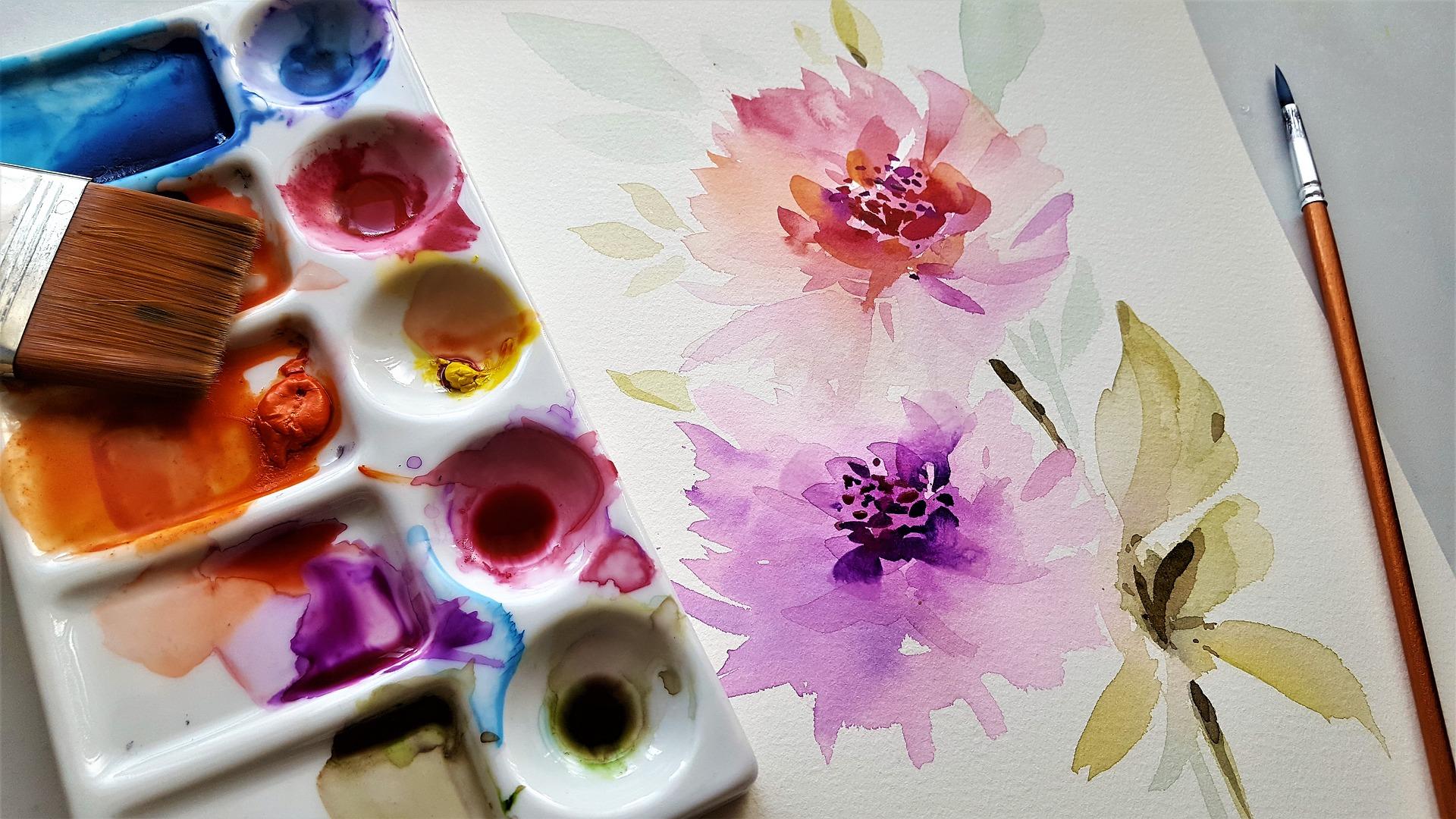 Bloemenschilderijen